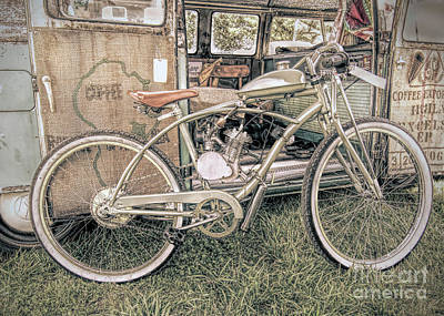 Photograph - Motorized Bike by Marion Johnson