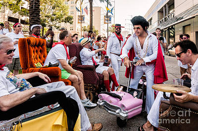 Photograph - Motorized Recliners And Elvis - Nola by Kathleen K Parker