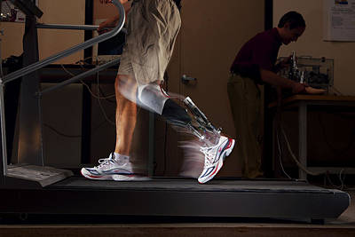 High Technology Devices Photograph - Motorized Springs In A Powered Ankle by Mark Thiessen