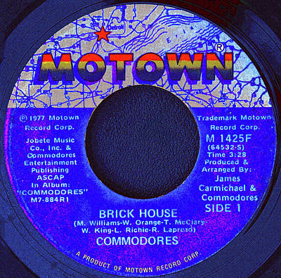 Digital Art - Motown And Commodores by David Lee Thompson