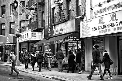 Photograph - Mott Street Days by John Rizzuto