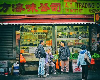 Photograph - Mott Street by Steve Archbold