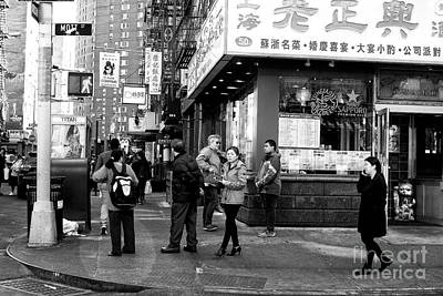 Photograph - Mott Street Watchers by John Rizzuto