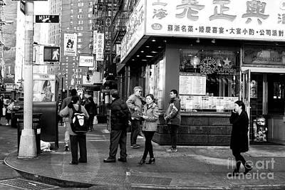 Photograph - Mott Street Watchers by John Rizzuto