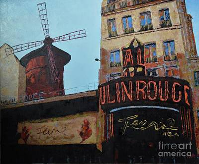 Painting - Moulin Rouge by Laura Toth