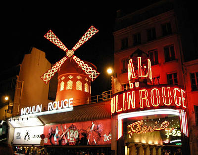 Moulin Rouge Paris Art Print