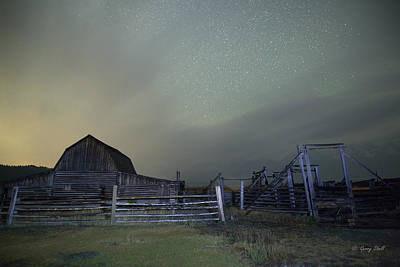 Photograph - Moulton Barn by Gerry Sibell