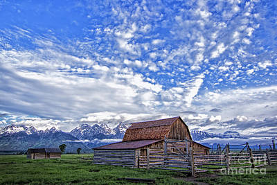 Photograph - Moulton Barn Grand Teton Np by Sonya Lang