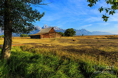 Photograph - Moulton Barn Jackson Hole by Ben Graham