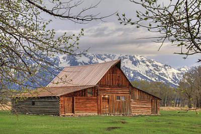 Farming Digital Art - Moulton Barn by Lori Deiter