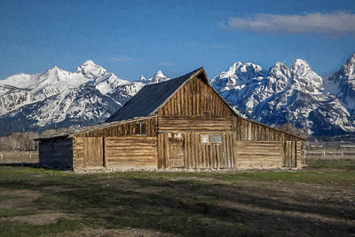 Photograph - Moulton Barn by Lou Novick