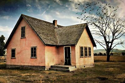 Teton Digital Art - Moulton's House by Lana Trussell