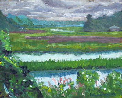 Painting - Moultrie Creek I by D T LaVercombe
