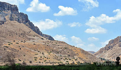 Photograph - Mount Arbel 5 by Lydia Holly