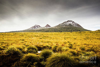 Mount Arrowsmith Tasmania Australia Art Print by Jorgo Photography - Wall Art Gallery