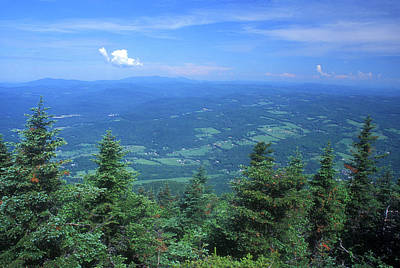 Photograph - Mount Ascutney Summit View by John Burk