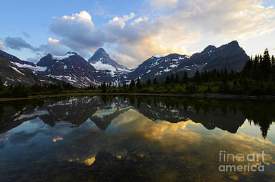 Photograph - Mount Assiniboine Canada 2 by Bob Christopher