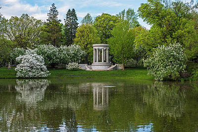 Photograph - Mount Auburn Cemetery In The Spring Cambridge Ma by Toby McGuire