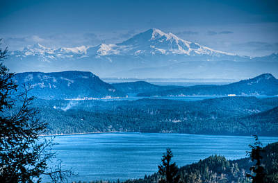 Mount Baker And The Gulf Islands Art Print by R J Ruppenthal