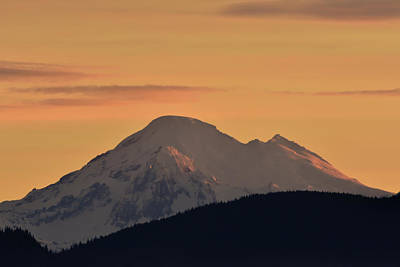 Photograph - Mount Baker Sunrise  by Chris LeBoutillier