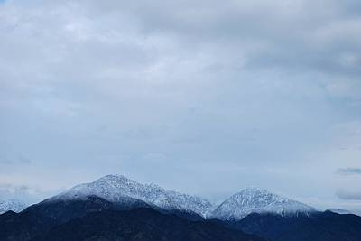 Photograph - Mount Baldy - Cloudy View 2 by Matt Harang
