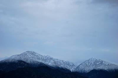 Photograph - Mount Baldy - Cloudy View by Matt Harang