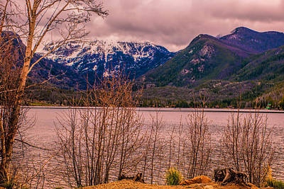 Photograph - Mount Baldy From Point Park by Tom Potter