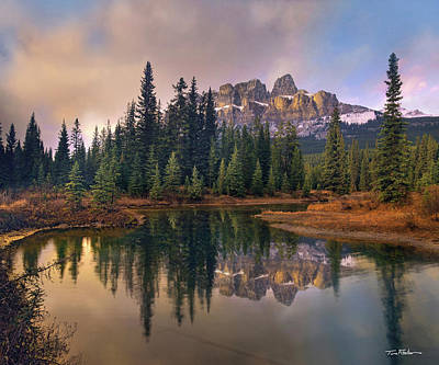 Photograph - Castle Mountain by Tim Fitzharris