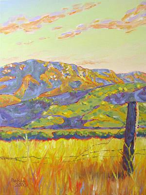Mount Boney Art Print