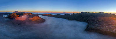 Photograph - Mount Bromo Scenic View by Pradeep Raja Prints