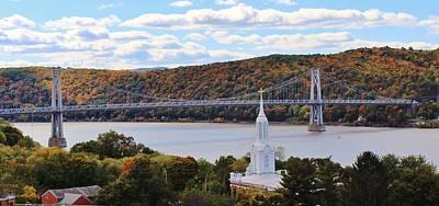 Mount Carmel And The Mid Hudson Bridge Art Print