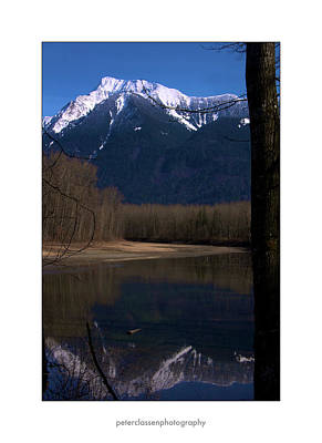 Mount Cheam2 Art Print by Peter Classen