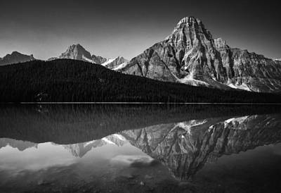 Eduardo Tavares Royalty-Free and Rights-Managed Images - Mount Chephren Reflection by Eduardo Tavares