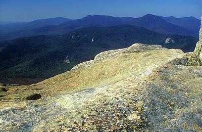 Blue Hues - Mount Chocorua Granite Summit by John Burk