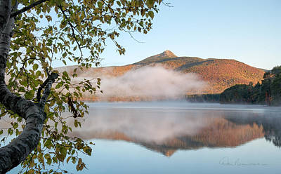 Dan Beauvais Royalty-Free and Rights-Managed Images - Mount Chocorua in Fog 0398 by Dan Beauvais