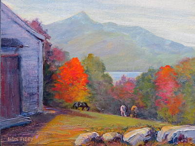 Painting - Mount Chocorua by Ken Fiery