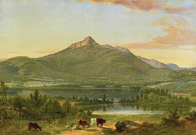 Painting - Mount Chocorua, New Hampshire by Asher Brown Durand