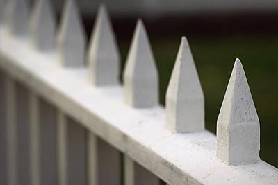 Photograph - Mount Clare Mansion Fence by Joseph Skompski