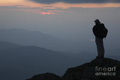 Mount Clay Sunset - White Mountains New Hampshire Usa Art Print