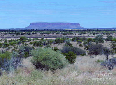 Photograph - Mount Conner - Northern Territory by Phil Banks