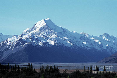 Photograph - Mount Cook 02 by Rick Piper Photography