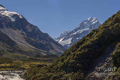 Photograph - Mount Cook In New Zealand by Patricia Hofmeester