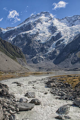 Photograph - Mount Cook by Patricia Hofmeester