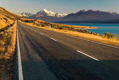 Photograph - Mount Cook Road by Martin Capek