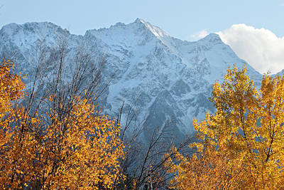 Rockies Photograph - Mount Currie Autumn by Pierre Leclerc Photography
