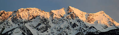 Photograph - Mount Currie Pemberton At Sunset by Pierre Leclerc Photography