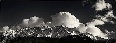 Photograph - Mount Currie Ridge Pemberton British Columbia by Peter V Quenter