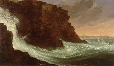 Desert Painting - Mount Desert Island by Thomas Cole