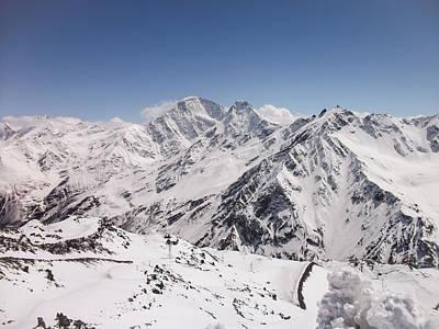 Nature Photograph - Mount Elbrus by Zina Stromberg