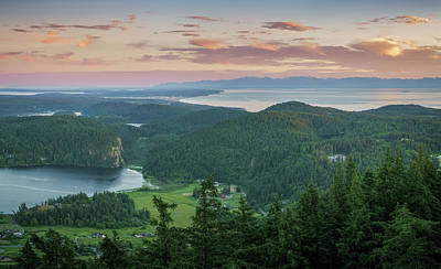 Photograph - Mount Erie Viewpoint by Ken Stanback